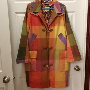 Liz Claiborne Lined Raincoat